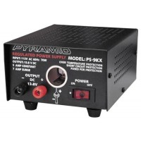 5-AMP POWER SUPPLY WITH CIGARETTE OUTLET